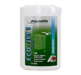 Eco Jet 1 toallitas desinfectantes Caja de 6 botes de 160 toallitas